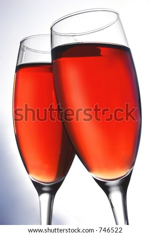 pink champagne toast