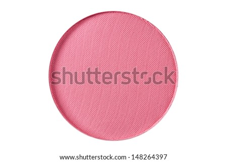 Pink color of Brush on