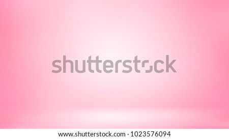 Pink 3D room. Background