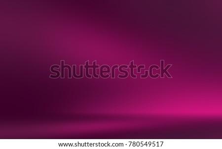 Pink 3d room. Background
