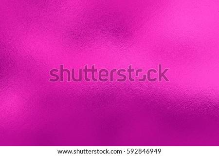 Pink foil background, metal texture