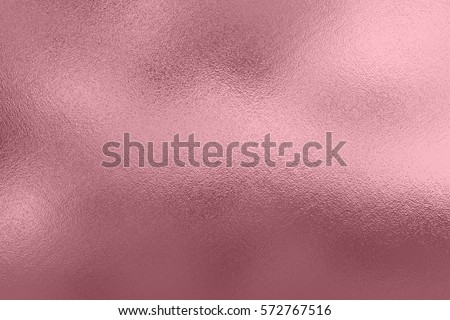 Pink foil background, rose gold metal texture