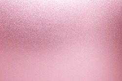 Pink foil texture. pink background