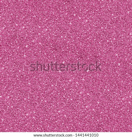 Pink glitter Background. Background filled with shiny glitter. Glitter and Christmas abstract background. #1441441010
