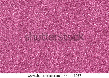 Pink glitter Background. Background filled with shiny glitter. Glitter and Christmas abstract background. #1441441037