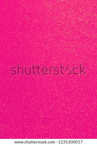 Pink glitter picture