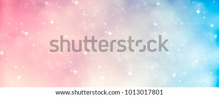pink, golden and blue fairytale abstract background. dreamy atmospheric texture