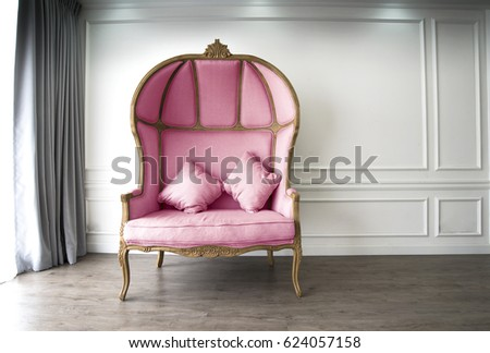 pink half dome sofa