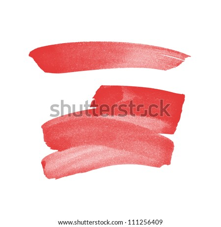 Pink Hand Painted Brush