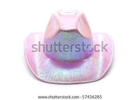 Pink hat - stock photo
