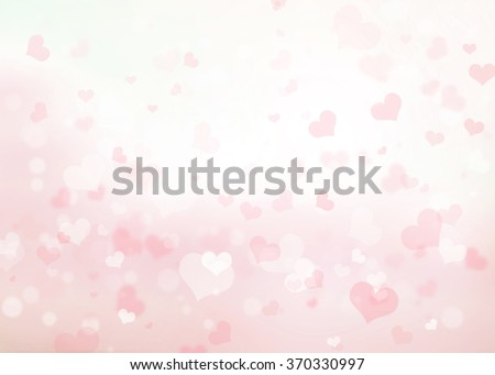 Shutterstock Pink heart bokeh background. Blurred Love Corazones Style Wallpaper Light White Gray Glowing February Day Happy Card Valentine Pastel Dark Group Soft Lens Rays View Abstract Wedding Elements Sparkling