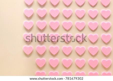 pink hearts for background. #781679302