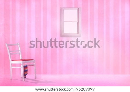 pink kids room. kids room with a pink locker.
