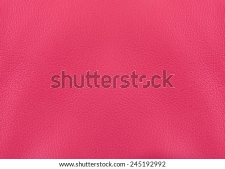 Pink leather surface for background
