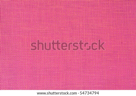 Pink linen fabric as background - Honeysuckle Pantone color of 2011