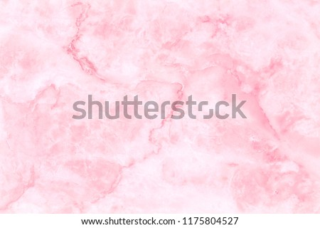 Pink marble texture background with high resolution for interior decoration. Tile stone floor in natural pattern.