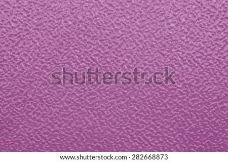 Pink metallic surface