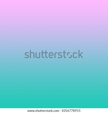 Pink mint blurred gradient minimal background Purple green template for graphic or web design, poster, banner, invitation, presentation, brochure, greeting card Copy space