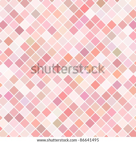 Pink mosaic raster background