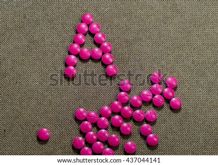 free photos pink or purple pill isolate on wood background avopix com