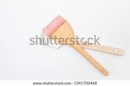 Pink Paintbrushes and General Paintbrushes #1345700468