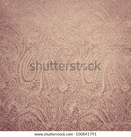 Pink paisley background/texture