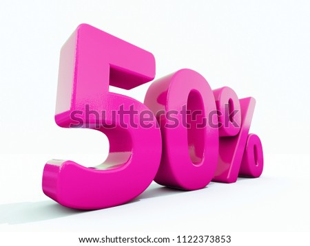 Pink 50% Percent Discount Sign, Sale Up to 50%, 50% Sale, Special Offer, Money Smarts Sticker,  Save On 50% Icon, % Off Tag, Budget-Friendly, Cost-Cutting Tricks, Low-Cost, Low-Priced, Reduce Cost