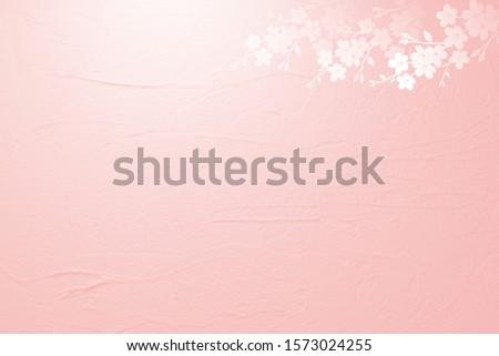 Pink petals background with cherry petals
