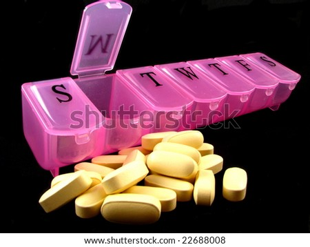 Pink Pill Box