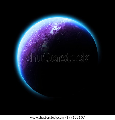 Pink Planet Isolated - Elements Of This Image Furnished By ...