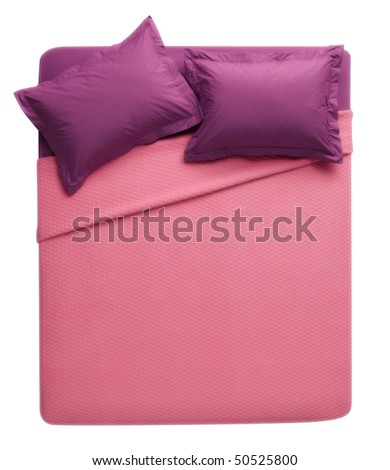 pink - purple bed