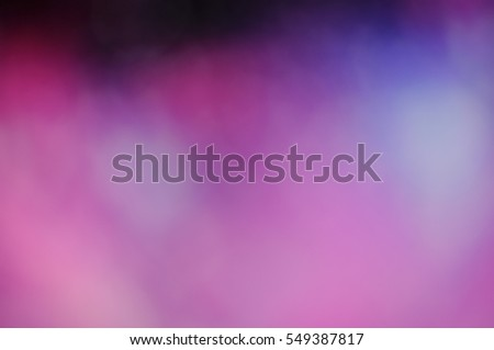 Pink Purple Red Romantic Background With Hearts Bokeh Symbol Of Love