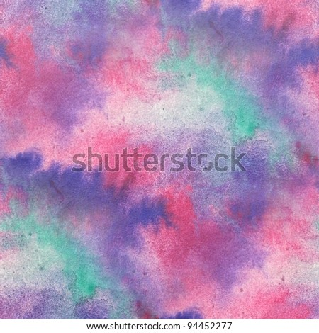 Pink & Purple Seamless Watercolor
