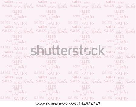 Pink sales background. Marketing website wallpaper.