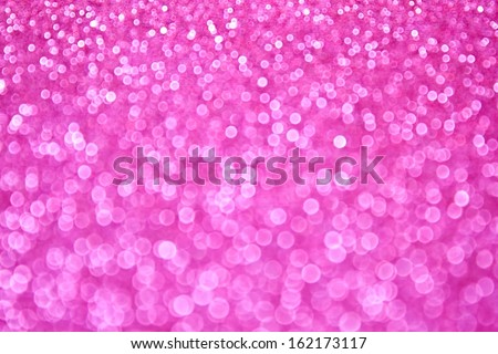 Pink sparkling bokeh background