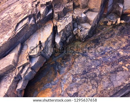 pink stone background, rock formation, geological formations #1295637658