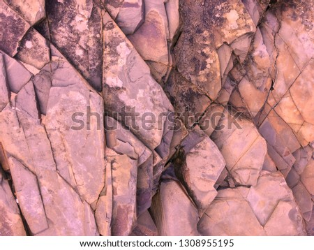 pink stone background, rock formation, geological formations #1308955195