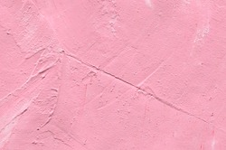 Pink Stucco Surface. Wall. Abstract Background