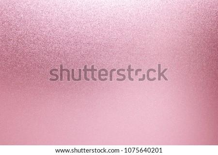 Pink texture background. Metal pink glitter #1075640201