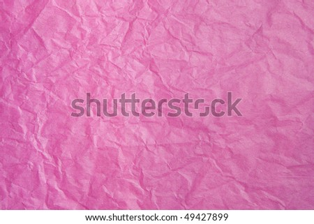 Pink Tissue Paper. Focus across entire surface Tissue Paper Texture Closeup. Focus evenly across surface.