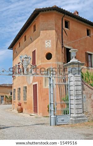 Pink Tuscan Villa