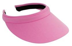 pink visor
