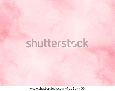 Pink water color background