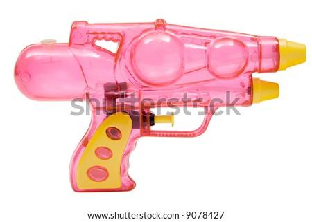 Pink Water Pistol