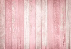Pink white old wall texture wood background colorful wood grunge