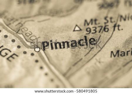 Pinnacle. Montana. USA
