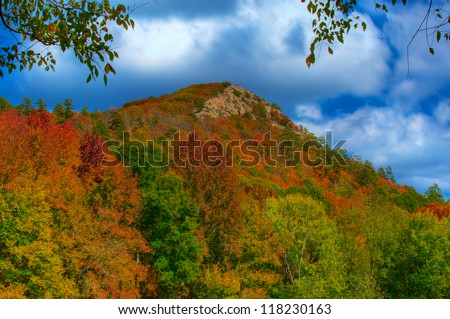 Pinnacle Mountain State Park in the Fall. Little Rock, Arkansas.