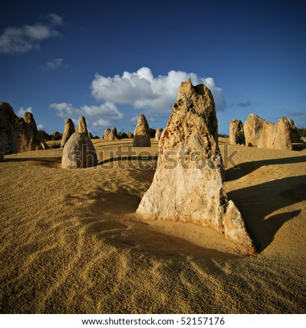 Pinnacles at first light - Numbung National Park, Western Australia