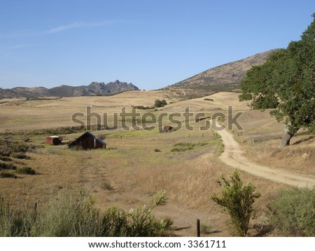 Pinnacles National Monument in California - stock photo
