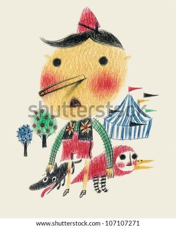 Pinocchio - stock photo